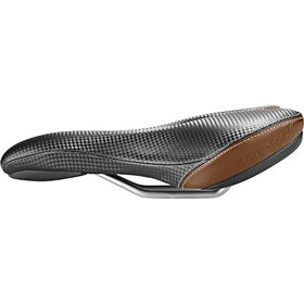 Humpert Comfort L Saddle carbon/brown